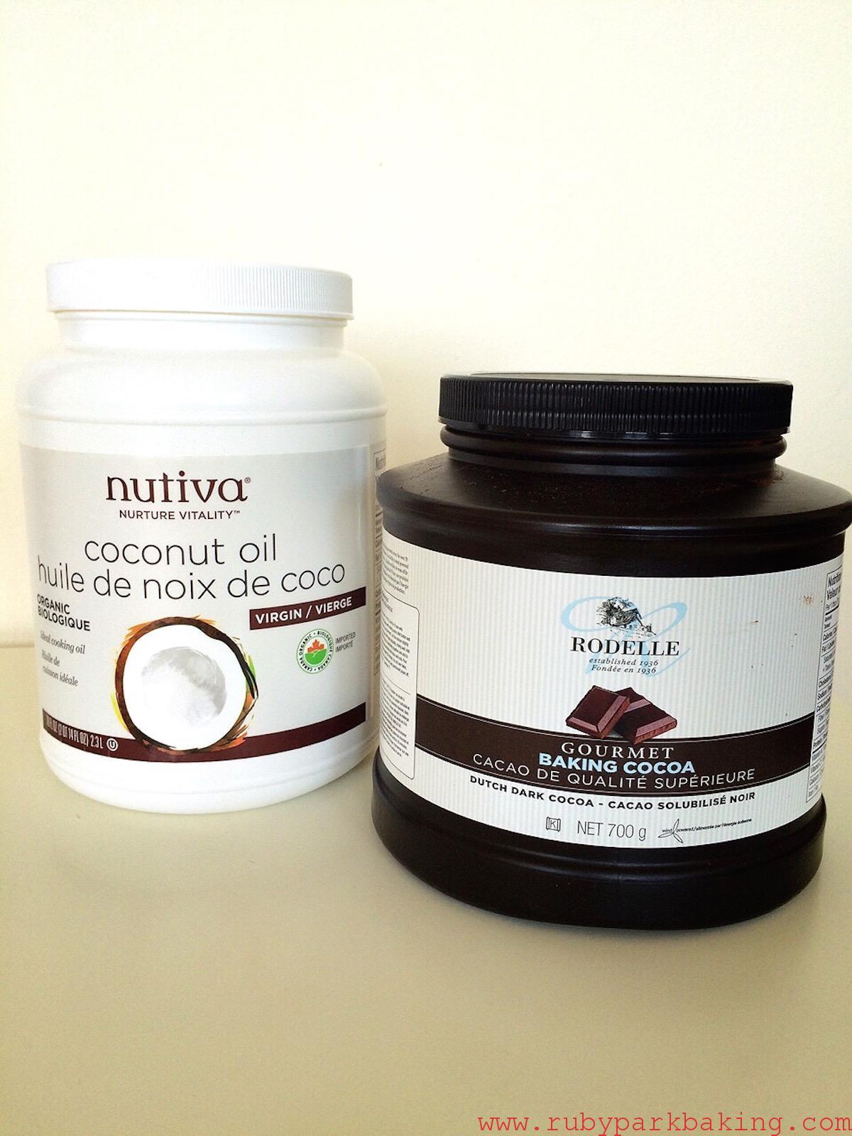 Nutiva Coconut Oil, Dutch Dark Cococa