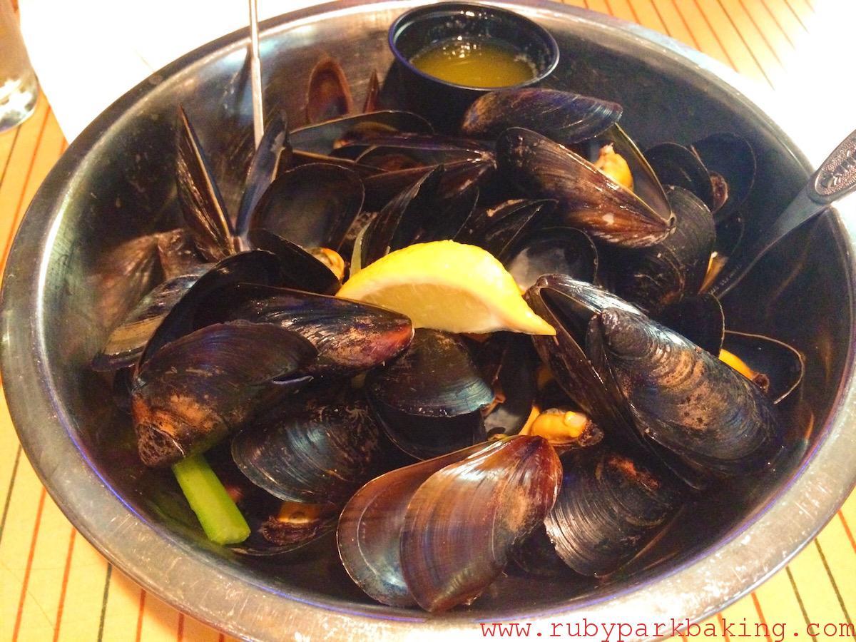 Blue mussel, Water Prince Corner Shop, Charlottetown, PEI