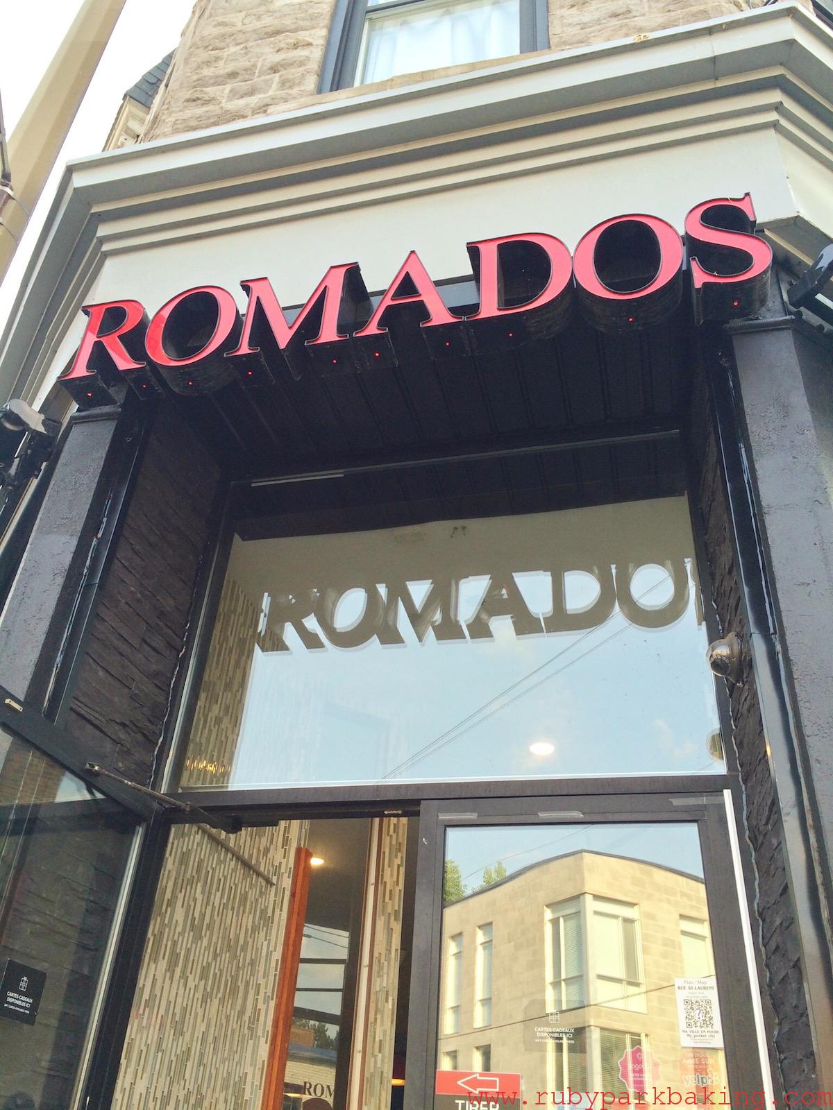 Rotisserie Romados, Montréal