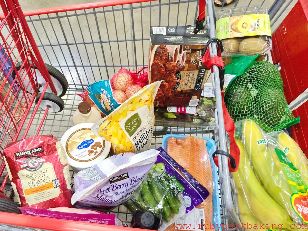 Costco shopping cart Canada