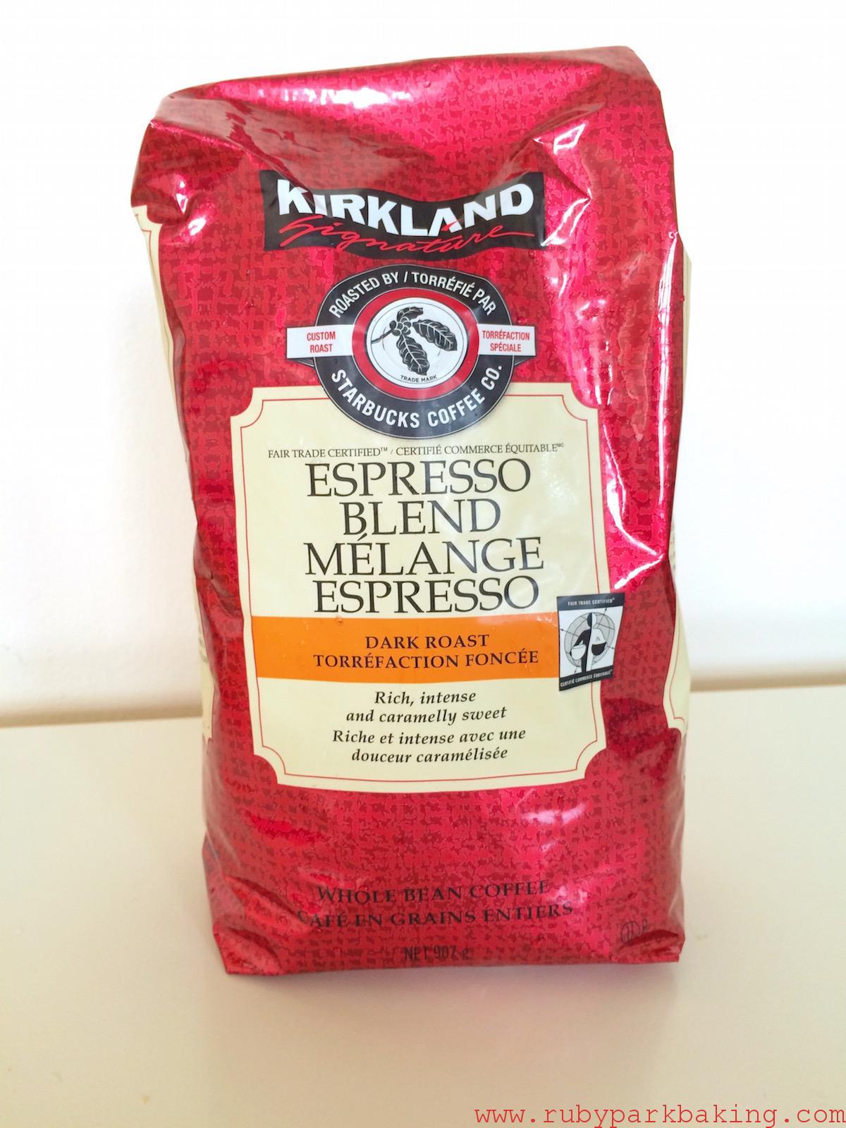 Costoco KIRKLAND Espresso Coffee Beans