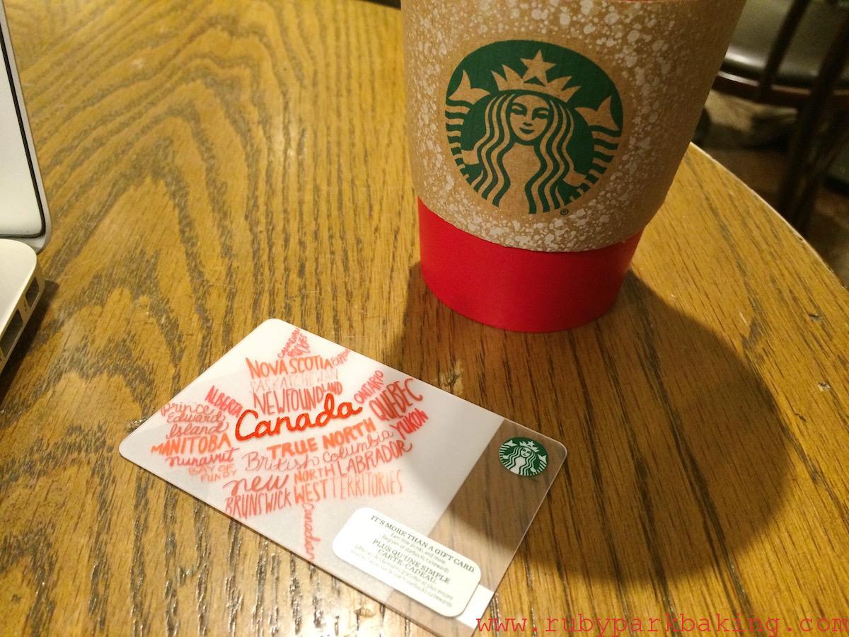 【スターバックス】カナダ在住者必見!超お得なスタバリワードやらなきゃ損♪